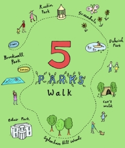 Five Parks Walk logo