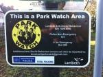 Parkwatch signage