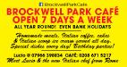 Brockwell Park Cafe