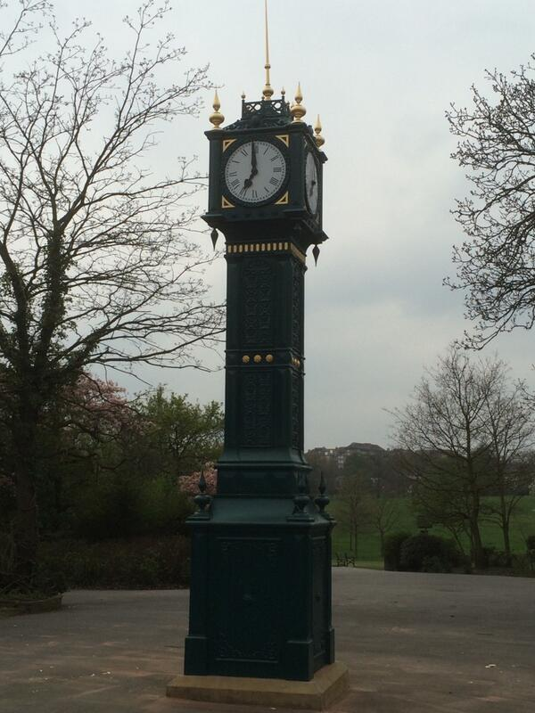 Brockwell Park Clocktower official unveiling - 3pm Saturday 3rd May