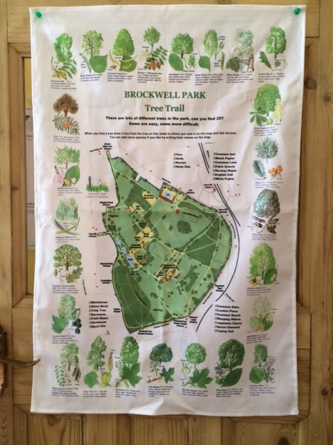 Brockwell Park Tree Towels at Lambeth Country Show